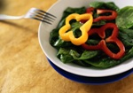 salad spinach eating pregnancy